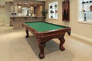 Pool Table Sizes Bellevue Solo Pool Table Room Size Guide